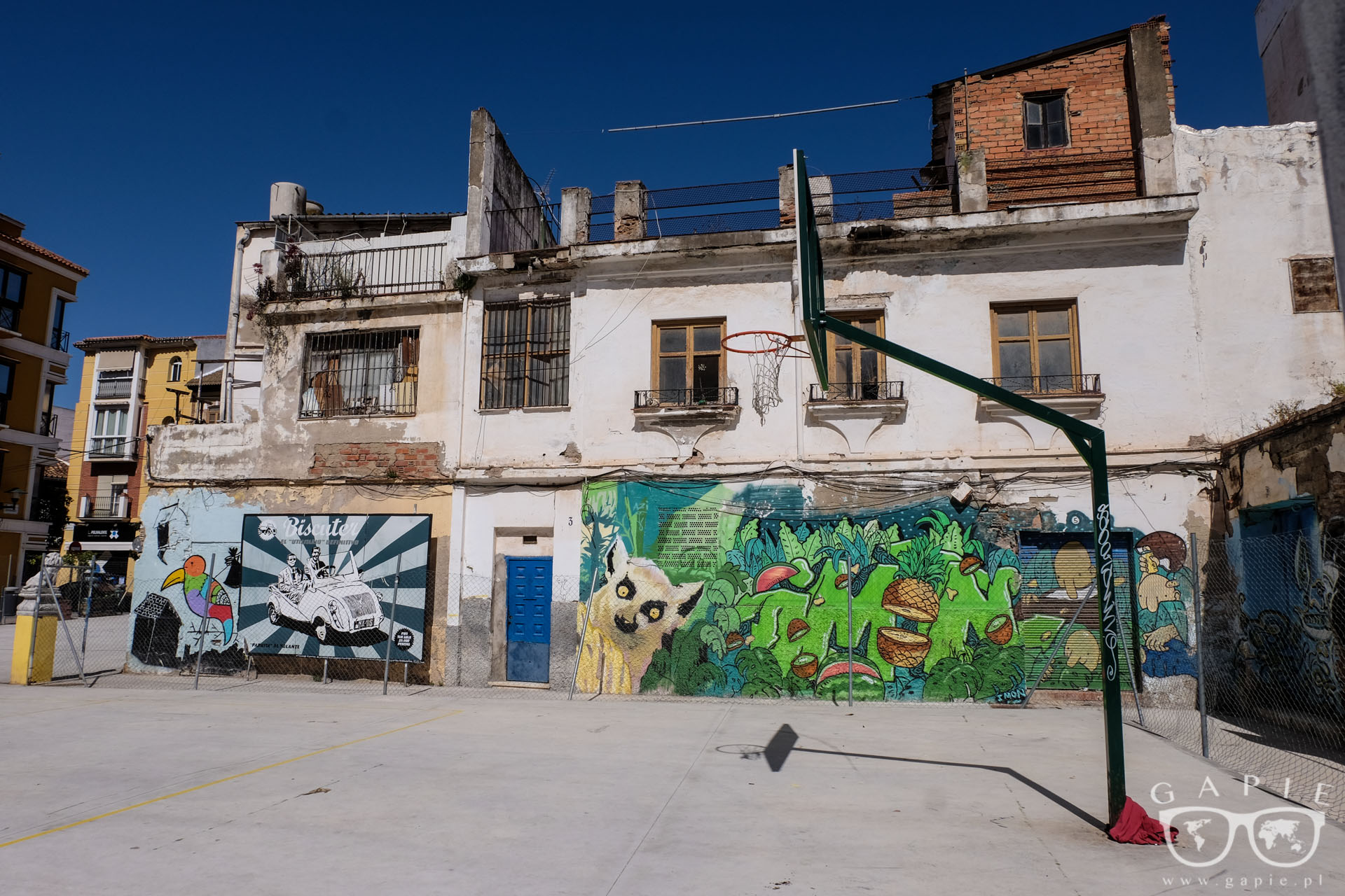 Street Art w Maladze